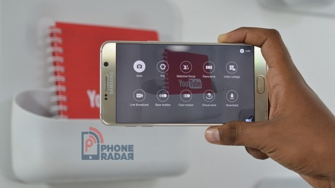 Samsung Galaxy Note 5 - Live Broadcast