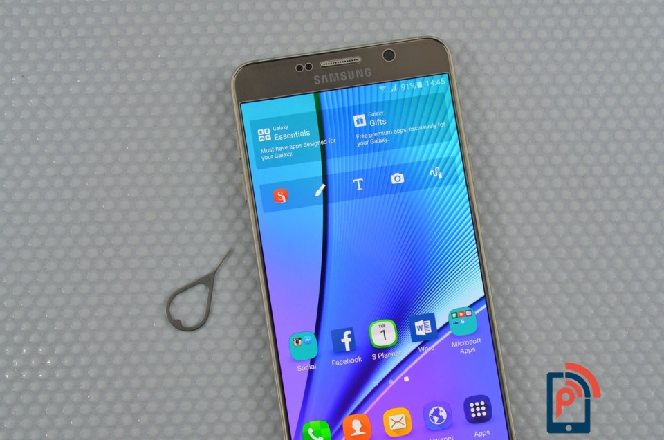 Samsung Galaxy Note 5 SIM card 1