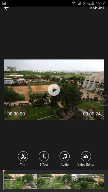Samsung Galaxy Note 5 Video Editor 2