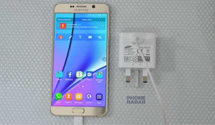 Samsung Galaxy Note 5 charging featured image
