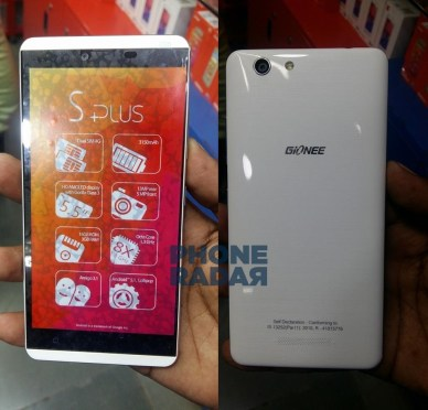 Gionee S Plus Exclusive (1)