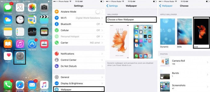 How to set Livewallpapers