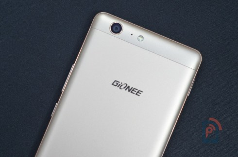 Gionee Marathon M5 - Rear Side