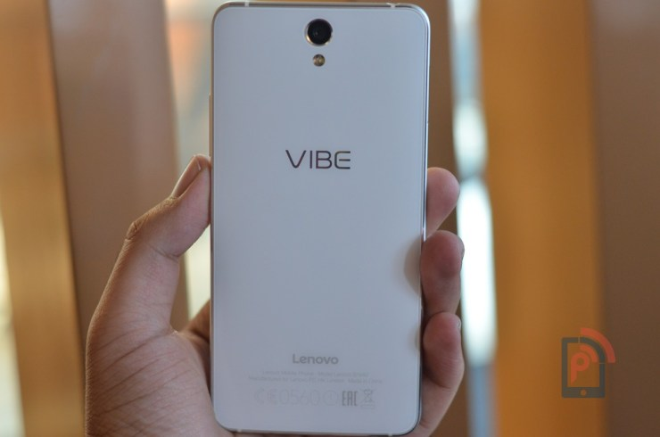 Lenovo Vibe S1 - Rear Side