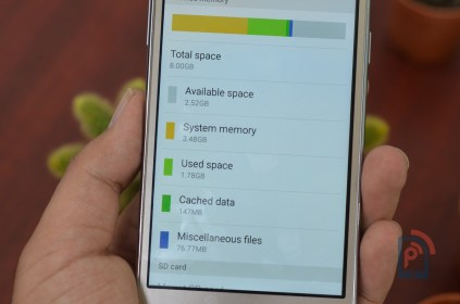 Samsung Galaxy ON5 - Internal Storage
