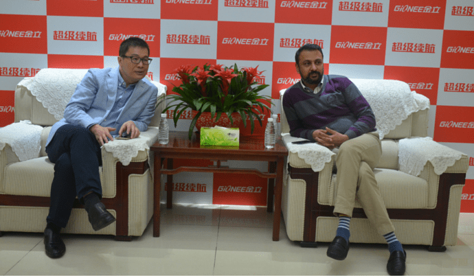 Gionee Interview PhoneRadar