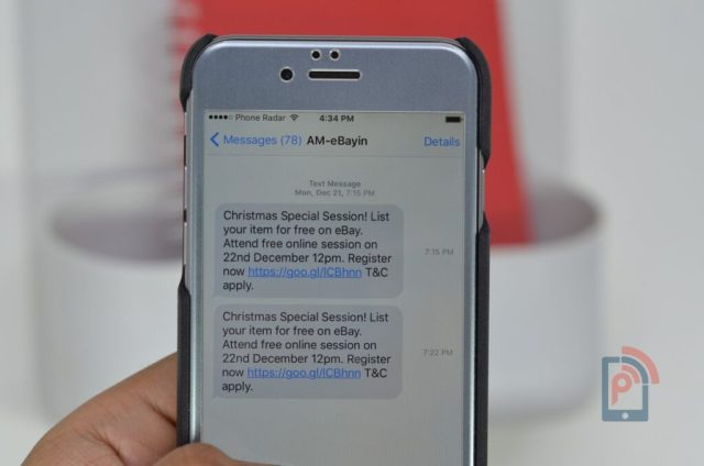 iPhone - Reveal Timestamp