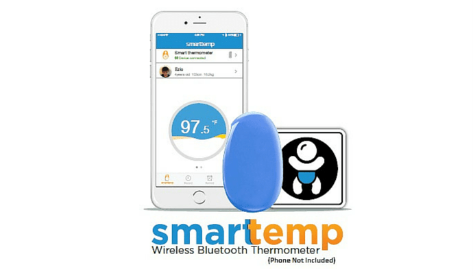 Infanttech Smarttemp Wireless Bluetooth Smart Thermometer Launched At $69.99