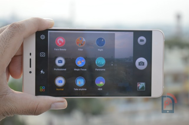 Gionee S6 - Camera Interface