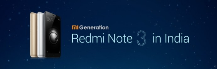 Redmi Note 3 Coming to India