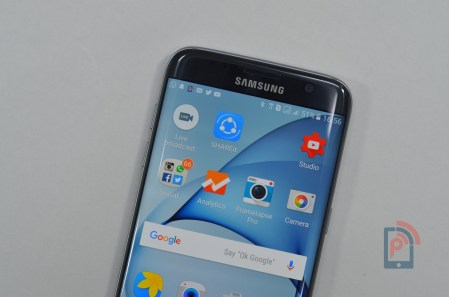 Samsung Galaxy S7 Edge - Front