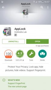 AppLock - Uninstall (4)