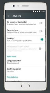 OnePlus 3  - Swap Buttons