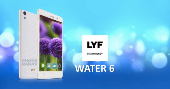 LYF Water 6 Smartphone Photo