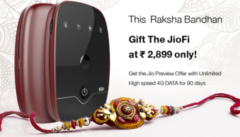 Jio Launches 2 JioFi Mobile Wi-Fi Hotspot Devices at Rs 1999