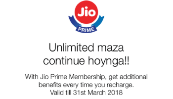 Reliance Jio Prime 4G get Freebies worth Rs 381 with Every Paytm