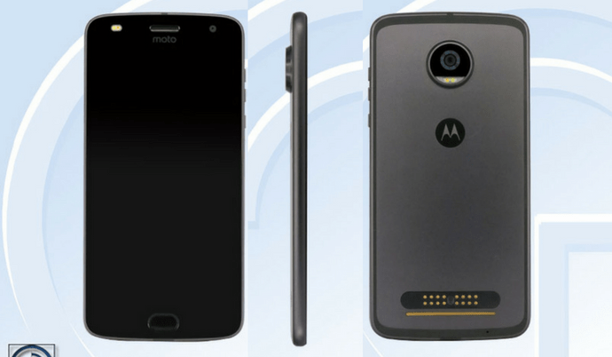 Motorola Moto Z2 Play details leaked on TENAA