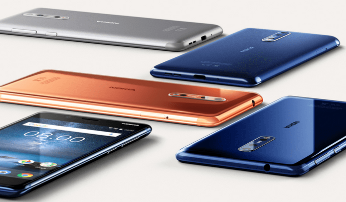 The US market might get a customized Nokia 8 version