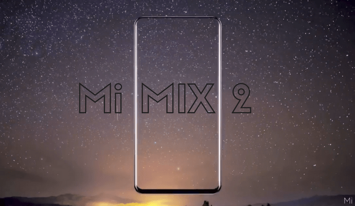 Xiaomi Mi Mix 2 video, 3D facial recognition feature leaked