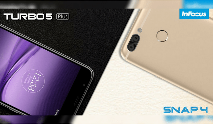 InFocus Turbo 5 Plus, InFocus Snap 4 price in India