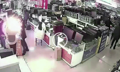iPhone Battery Explosion Chinese Man