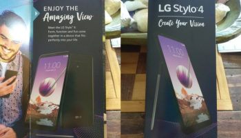 LG Stylo 5 Leaked Renders Reveal 18:9 Display & Front LED Flash