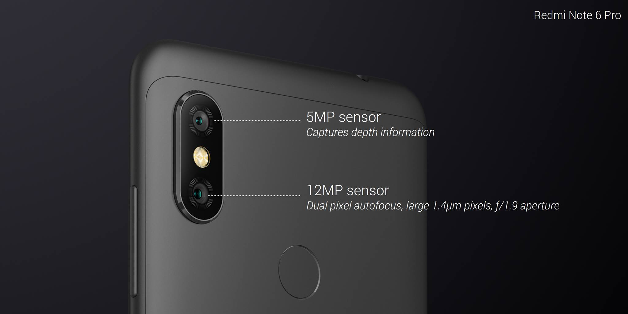 Xiaomi Redmi Note 6 Pro With 4 Cameras Officially Launched In 5 Ram Gb Internal 64 Rose Gold Also Powers The It Packs Kryo 260 Cpu And Adreno 509 Gpu Comes 4gb Of 64gb Expandable Storage