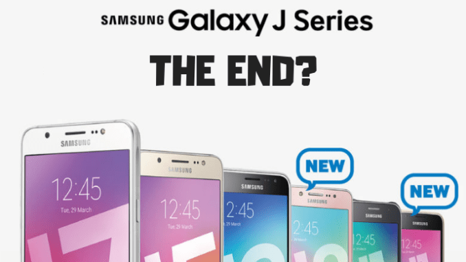 Samsung Reportedly Plans To Finally Kill The Galaxy J Series