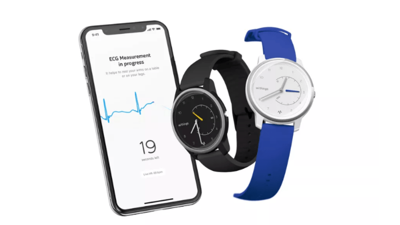 Withings Move analog watch, Move ECG, BPM Core land on CES 2019