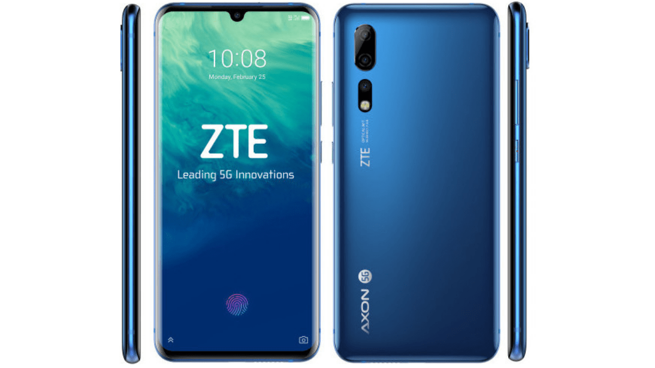 ZTE's first 5G phone is the Snapdragon 855-powered Axon 10 Pro