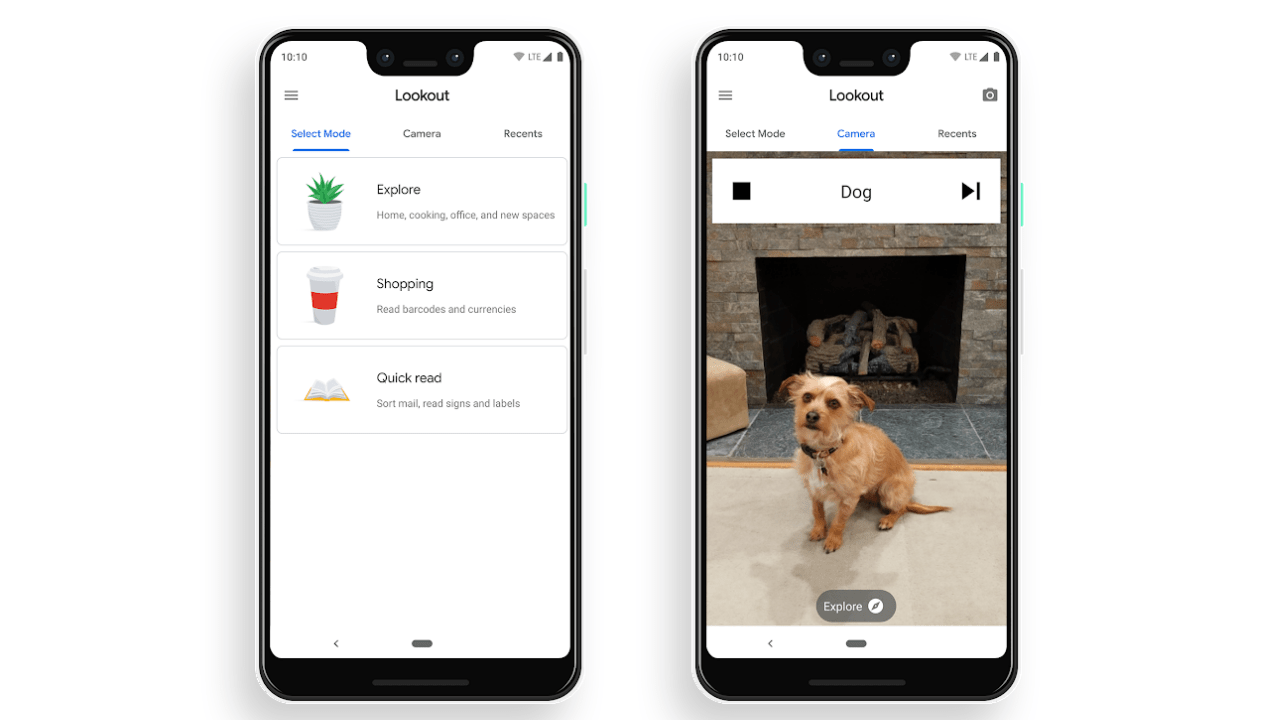 Google Lookout App Seeks To Assist The Blind And Visually Impaired
