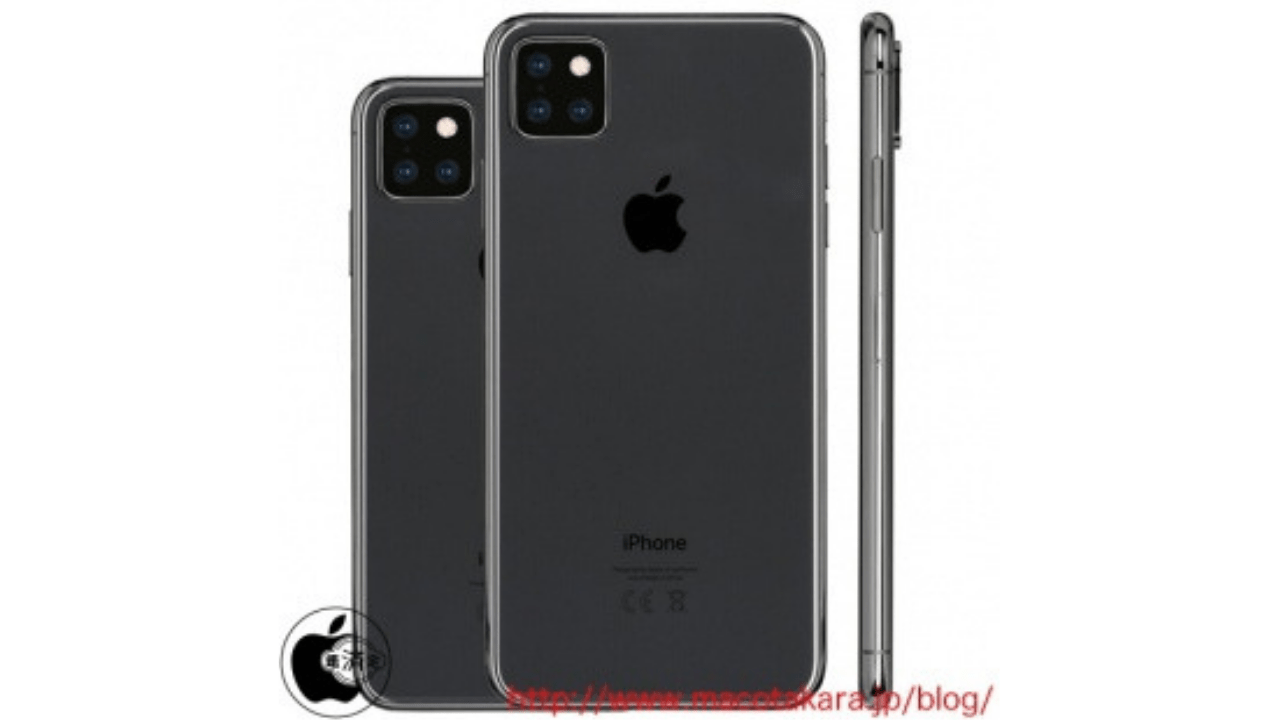 "2019 iPhones with New Triple Rear Cameras to come in 6.1"" and 6.5"" OLED screen-sizes: Report"