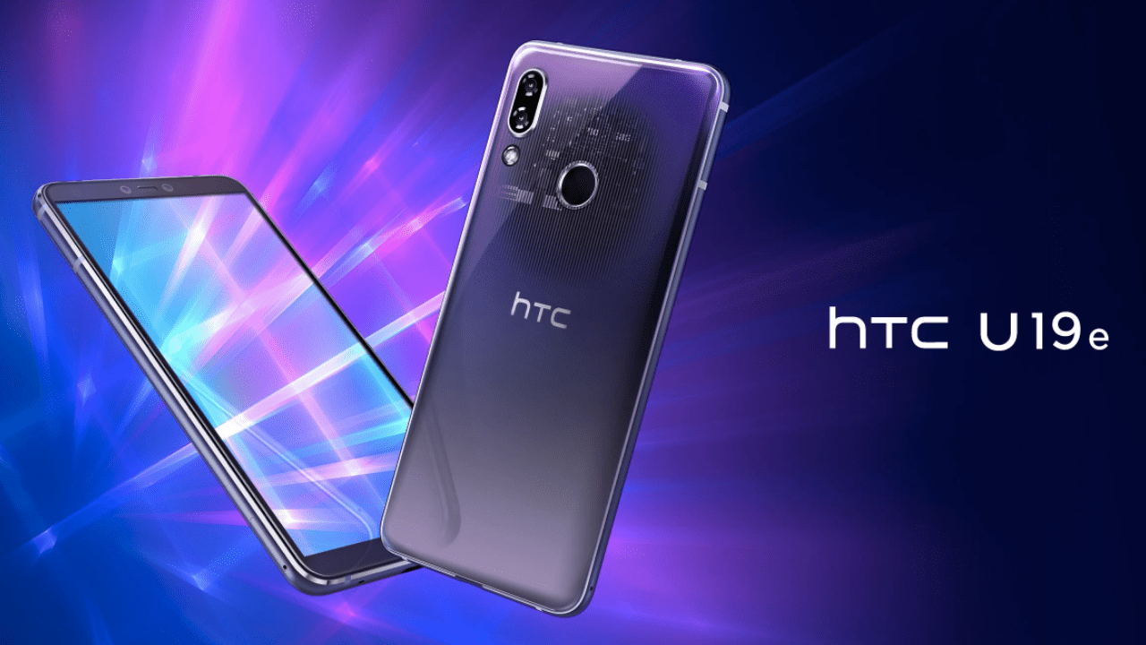 HTC U19e and Desire 19+ premium midrangers Launched in Taiwan