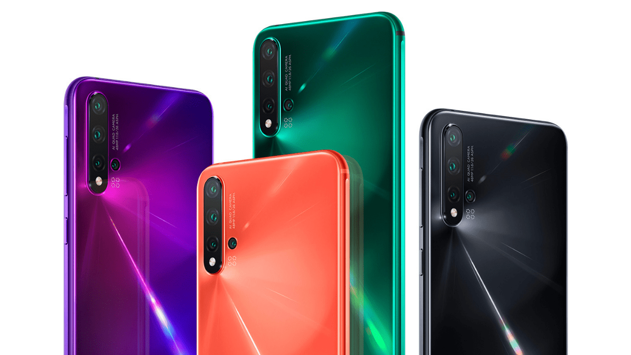Huawei Launches Three New Nova Phones