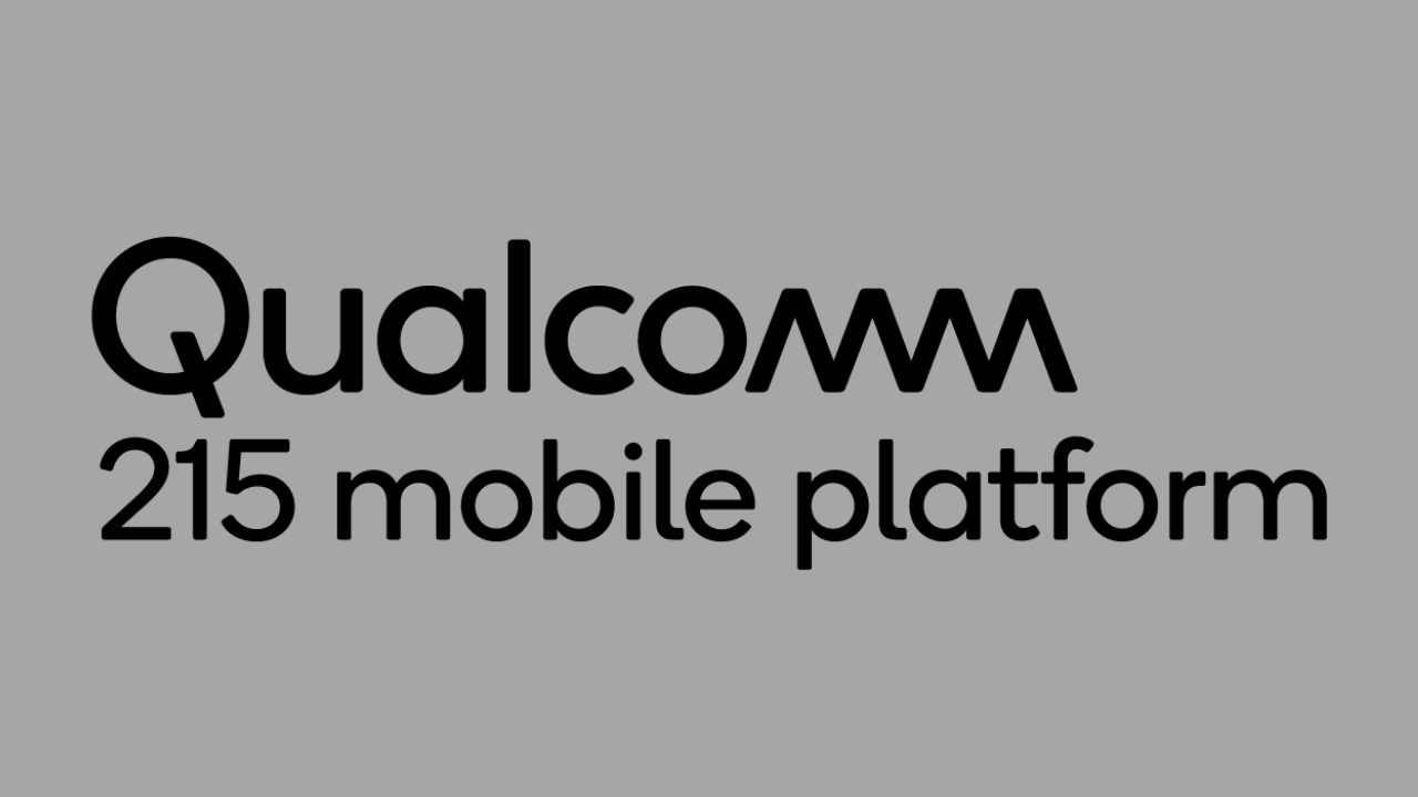 Qualcomm 215 mobile platform announced: Key features