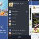 Facebook Beta per Windows Phone 8: interfaccia utente ridisegnata