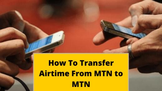 MTN Airtime Transfer