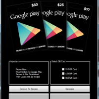 Google Play GiftCard Generator No Human Verification 2021