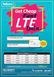 Telkom LTE Data Packages