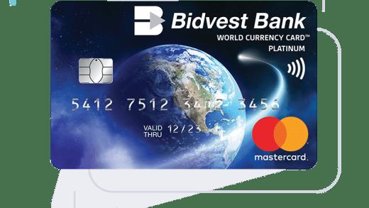 Bidvest Bank Card