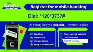 EasyPay Cellphone Banking Code