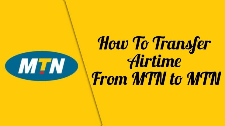 Transfer Airtime To MTN Number
