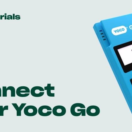 How does a yoco card machine work