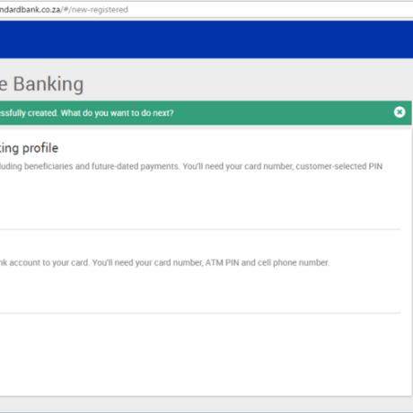 Open A Standard Bank Account Online