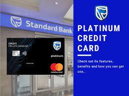 Standard bank platinum card