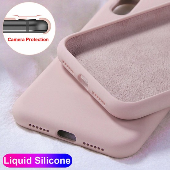 YISHANGOU Case For Apple iPhone 11 Pro Max 6 S 7 8 Plus X XS MAX XR Cute Candy Color Couples Soft Silione Shockproof Back Cover
