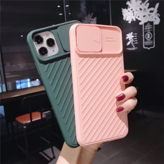 Lovebay Camera Protection Shockproof Phone Case For iPhone 11 Pro X XR XS Max 7 8 Plus Solid Color Soft TPU Silicone Back Cover