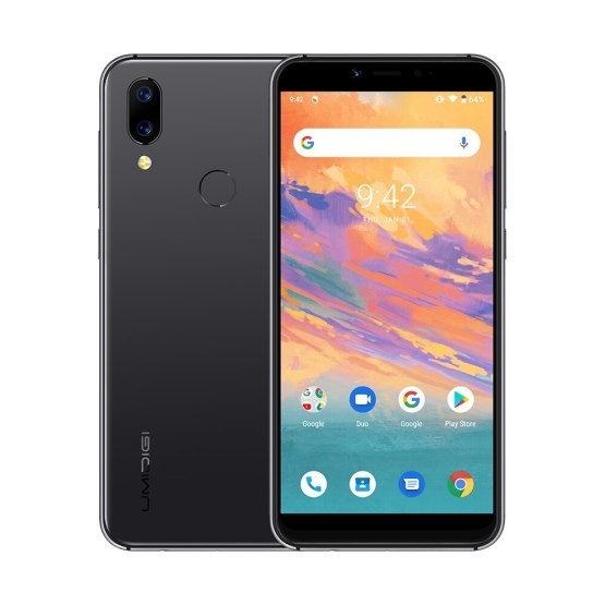 """UMIDIGI A3S Smartphone 5.7"""" Incell display 2GB+16GB MTK6761 Quad core Android 10 OS 16MP+5MP Dual 4G Global Version Mobile phone"""