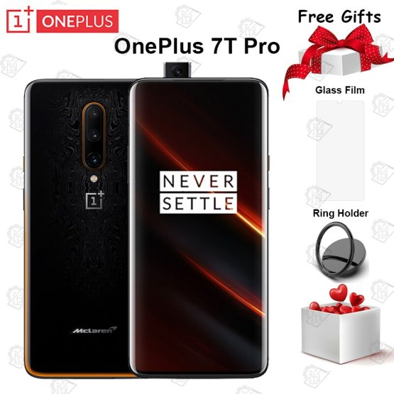Global ROM OnePlus 7T Pro Mclaren Smartphone Snapdragon 855Plus 6.67'' Fluid AMOLED 90Hz Screen 48MP Camera Big Battery UFS 3.0