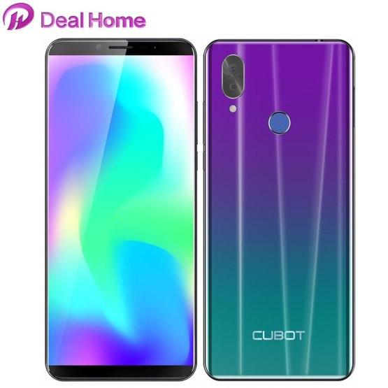 "Cubot X19 5.93"" 18:9 FHD+ 2160*1080 Helio P23 Octa-Core 4GB +64GB Smartphone 4000mAh Face ID 16.0MP Fingerprint Mobile Phone"